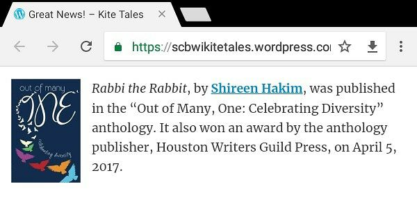scbwi great news